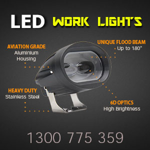 3 Inch High Quality LED Work Light Features