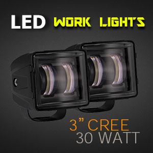 Heavy Duty 3 Inch 30 Watt LED Work Light