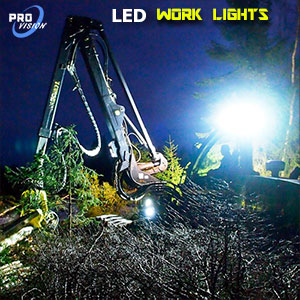 Heavy Duty 3 Inch 30 Watt LED Work Light Illumination