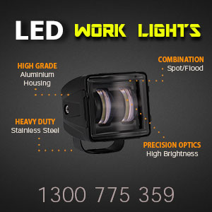 Heavy Duty 3 Inch 30 Watt LED Work Light Features