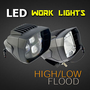 LED Work Light - 5 Inch 35 Watt - Heavy Duty