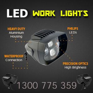 LED Work Light - 5 Inch 35 Watt - Heavy Duty Features