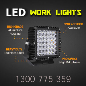 LED Work Light | Heavy Duty 8 Inch 360 Watt Features
