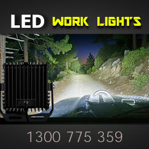 LED Work Light | Heavy Duty 8 Inch 360 Watt Illumination