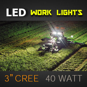 LED Work Light | 3 Inch 40 Watt Illumination