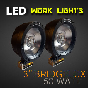 LED Work Lights 4 Inch 50 Watt Pro Series