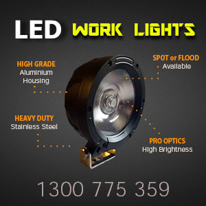 LED Work Lights 4 Inch 50 Watt Pro Series Features