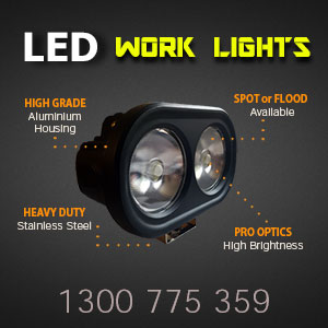 LED Work Lights 4x7 Inch 80 Watt Pro Series Features