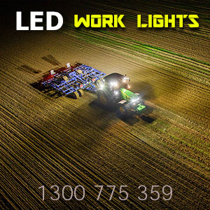 LED Work Lights 4x7 Inch 80 Watt Pro Series Illumination