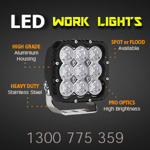 LED Work Light | Heavy Duty 5 Inch 90 Watt Features