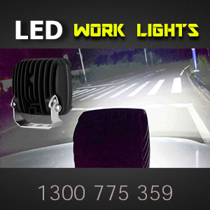 LED Work Light | Heavy Duty 5 Inch 90 Watt Illumination