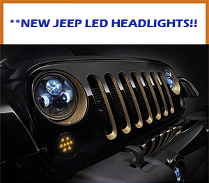 Jeep LED Head Lamps