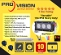 Thumb Pro Single Row 10 Watt LED Light Bar L Foot Side or Base Mount