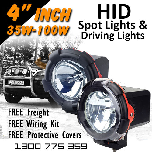 3f39127a45a8 4 Inch Xenon HID Spot and Driving Lights ...