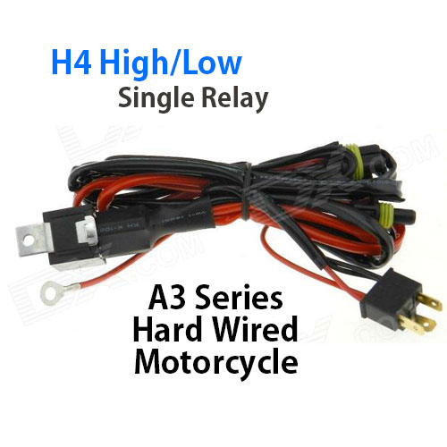 motorcycle relay harness for hid lights