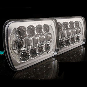 Led Head Lights Universal 5 Inch And 7 Inch Round And Rectangular Led Head Lamp Lights Call Us In Australia On 1300 775 359 For Professional Advice